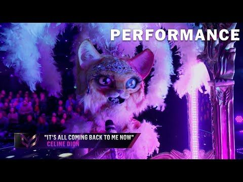 Kitty Sings It S All Coming Back To Me Now Be Celine Dion The Masked Singer Season 3 Youtube Celine Dion Singer Kitty