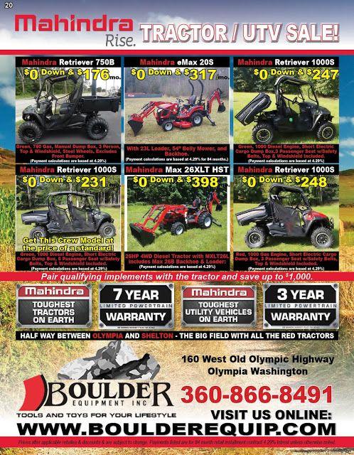 New Mahindra Tractors Utv S Branson Tractor Sale Mahindra Tractor Branson Tractor Tractors For Sale
