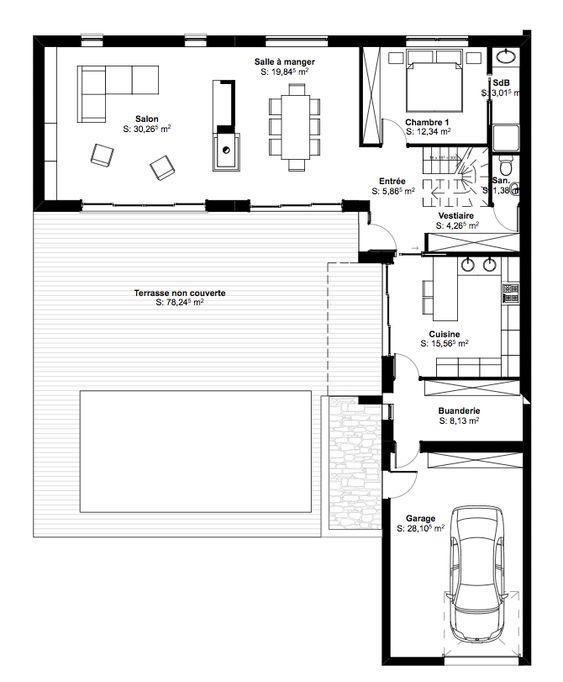 Maison Noe Floor Plans House Diagram