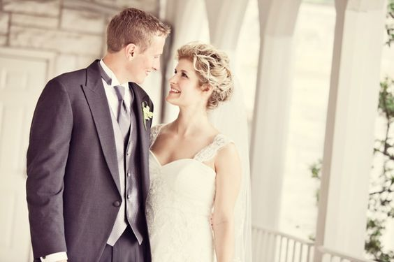 Lauray's couple Frances & Ben at their stunning July wedding.