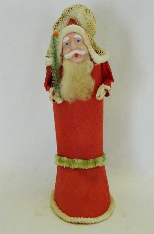 Vintage Christmas Santa Boot candy container by SeeckAntiques