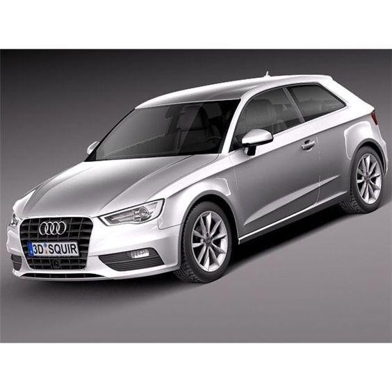 Audi A3 2013 - 3D Model