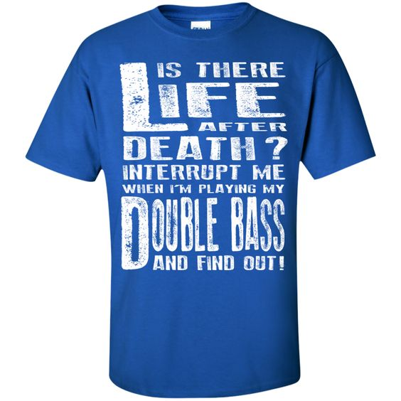 Don't Interrupt Me - Double Bass Kids T-Shirt