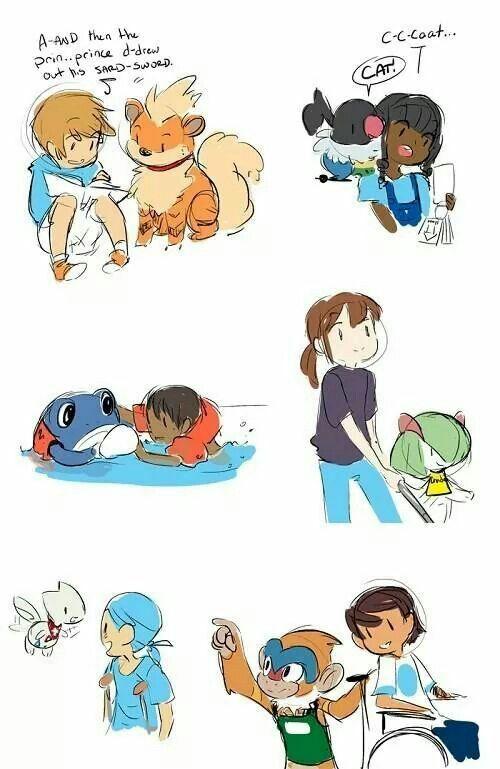 Aww < 3. Living with Pokemon