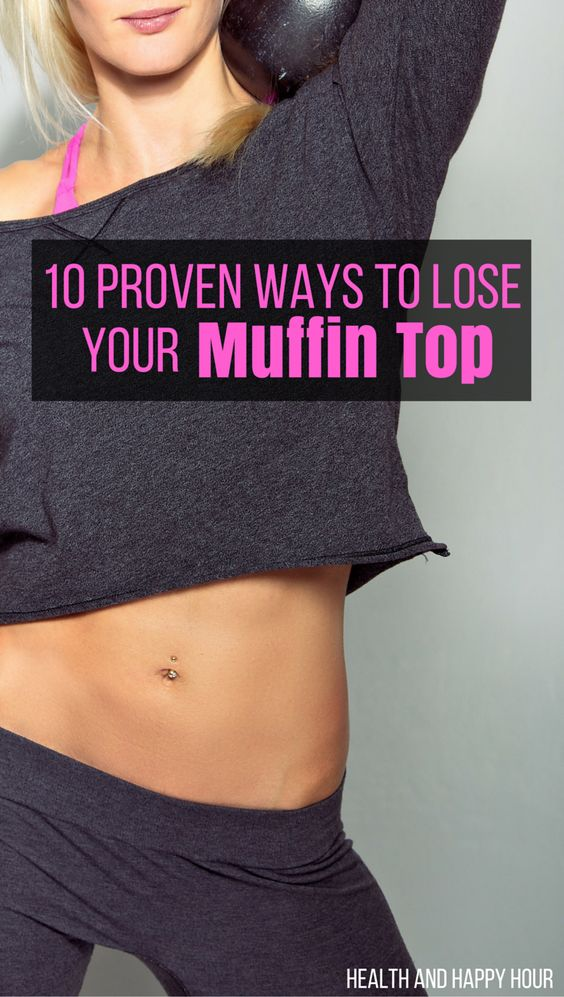 how to lose muffin top for guys