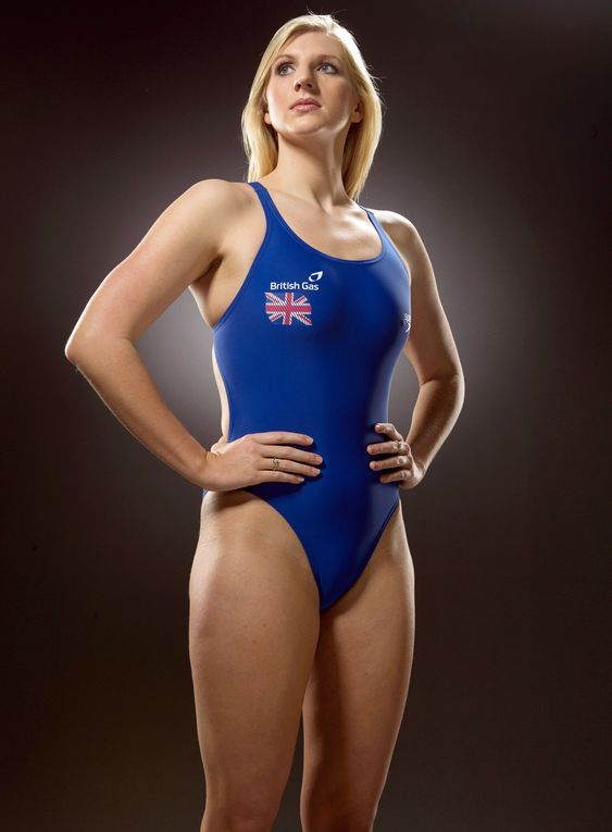 FILE - FEBRUARY 5: British Olympic Swimmer Rebecca Adlington has announced her retirement. NOTTINGHAM, UNITED KINGDOM - JANUARY 18:  Rebecca Adlington of the British Gas Great Britain Swimming Team poses for a portrait during a British Gas photoshoot on January 18, 2012 in Nottingham.   (Photo by Clive Rose/Getty Images for British Gas)