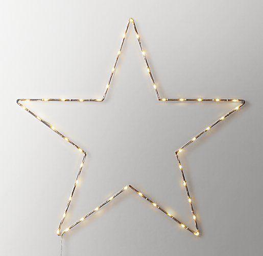 Starry Light Wall Decor Open Star Starry Lights Girls Wall Decor Stars Wall Decor