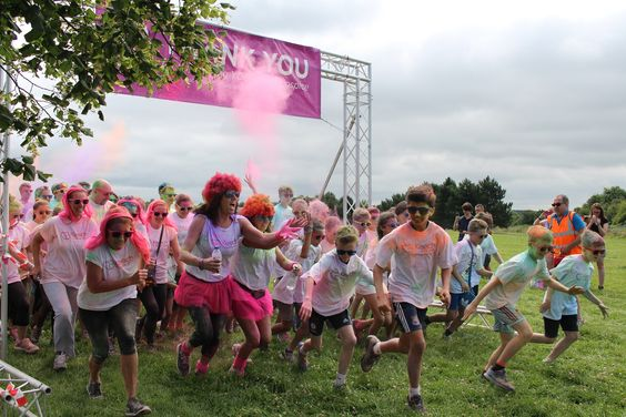 Keech Colour Dash Raises Record Amount