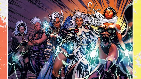 xmen storm tattoo   ... amazing with white hair like storm from x ...