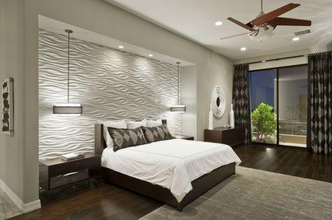 Die besten 25+ 3D Wandplatten Ideen auf Pinterest strukturierte - schlafzimmer einrichten 3d