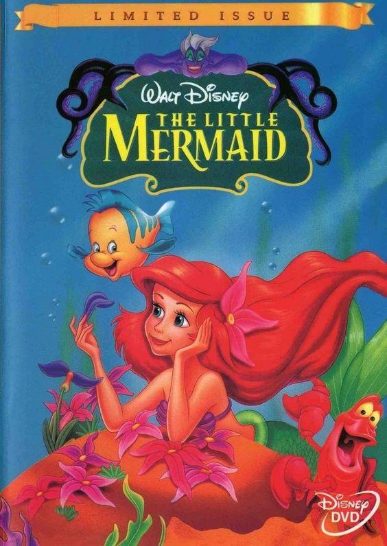 The little mermaid, Little mermaids and Little mermaid dvd ...