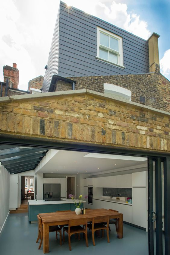 Side Return Extension And Loft Conversion On A Victorian