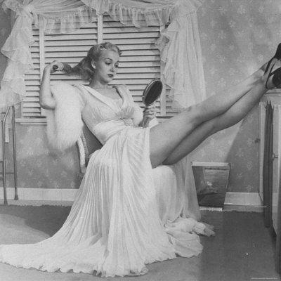 Lovely vintage lingerie...