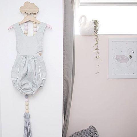 colgadores nube para habitaciones infantiles