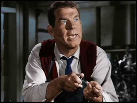 Professor Ned Brainard played by Fred MacMurray, from the Disney movie The Absent-Minded Professor.