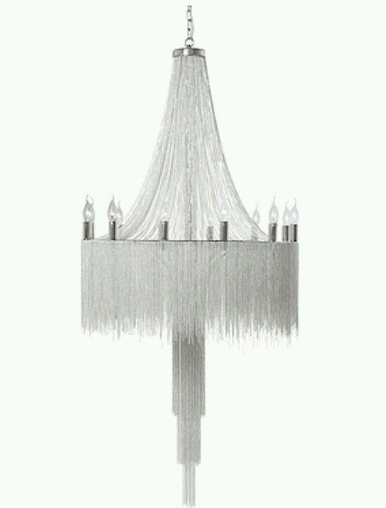 Modern chain chandelier