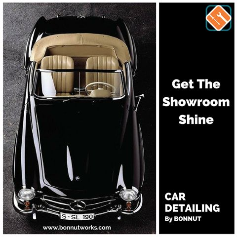 Car Detailing Packages from Rs1599 only www.bonnutworks.com