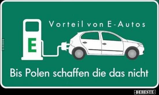Vorteil Von E Autos Lustige Bilder Spruche Witze Echt Lustig Lustige Bilder Lustig Witze