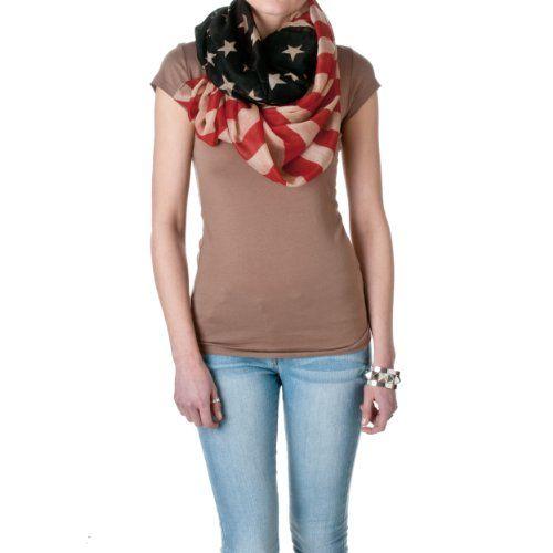 Riverberry Womens Vintage American Flag Infinity Scarf Riverberry http://www.amazon.com/dp/B00KFS3Y82/ref=cm_sw_r_pi_dp_T9Swvb161CVM8