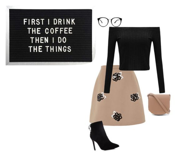 """""""business"""" by lila77 ❤ liked on Polyvore featuring Christopher Kane, Charles David and Alexander Wang"""