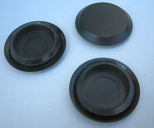 7 8 Sheet Metal Plastic Hole Plugs 25 Plugs Sheet Metal Plugs Metal