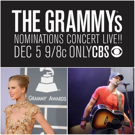 Taylor Swift to co-host GRAMMY Nominations Concert Live!! alongside LL Cool J; Luke Bryan added to list of performers!