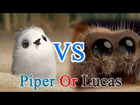 Lucas The Spider Or The Piper Who Is The Cutest Comment Below