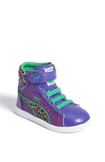 PUMA 'First Round' High Top sneaker  She cld rock these!