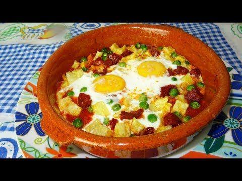 Deliciosos Huevos A La Flamenca Receta Fácil Youtube Recetas Fáciles Recetas De Comida Comida étnica