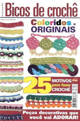 Ano 1 Ed. 21 Bicos de Croche - Nenugnoje - Picasa Web Albums
