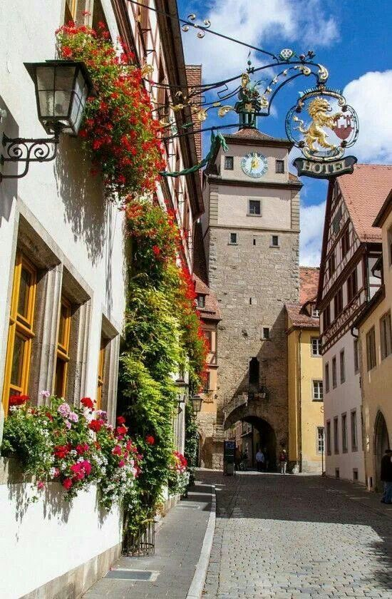 Rothenburg, GERMANY • One of many picturesque stops along The Romantic Road, this midevil walled village is every bit as charming as it seems.