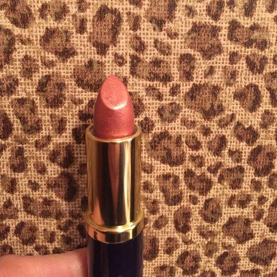 Estee Lauder Tiger Eye Shimmer Lipstick Estee Lauder full size lipstick Tiger Eye Shimmer. Estee Lauder Makeup Lipstick