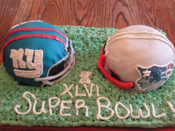 Super Bowl Cake!