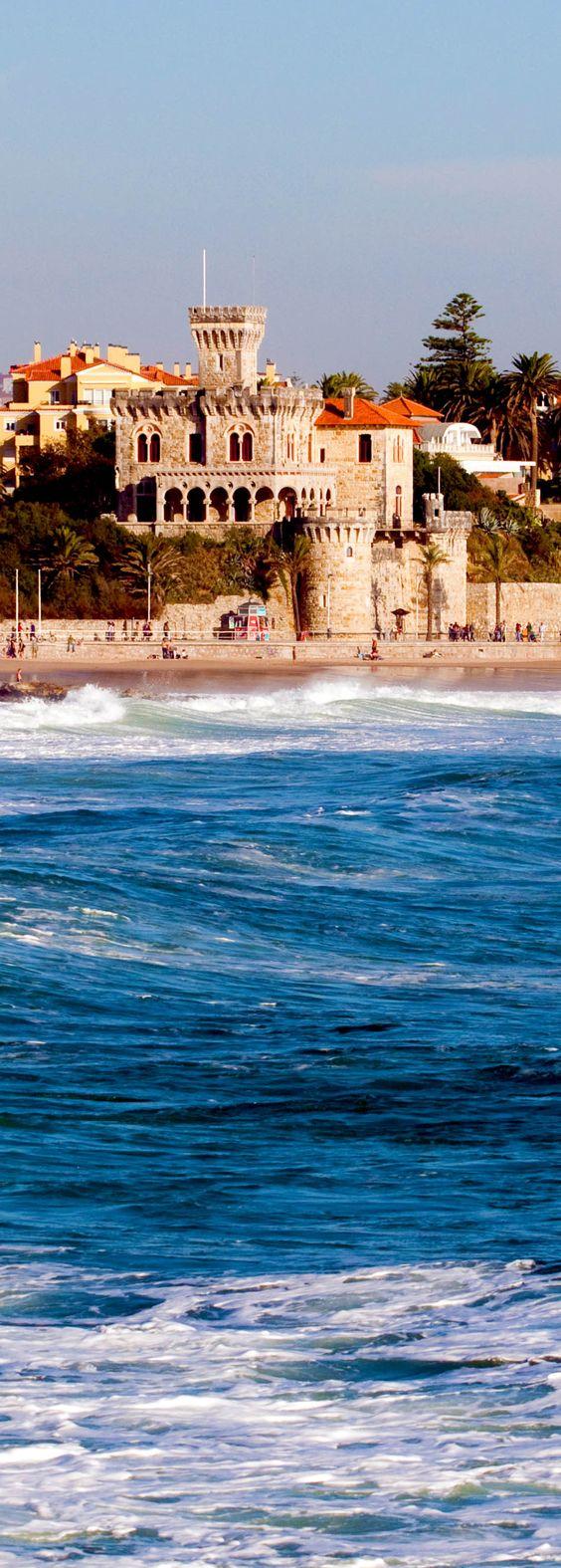 Vista incrível da Costa do Estoril, Portugal | 32 Lugares Stupendous em Portugal cada amante do curso deve visitar