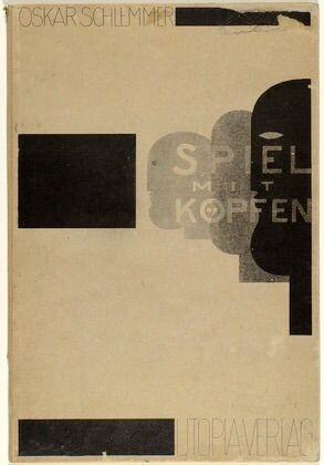 """phileas69:  Oskar Schlemmer Portfolio """"Jeux de têtes"""" / """"Play on heads"""" Vers / Circa 1920 (Publié en / Published in 1923) (Via MoMA) (plus de / more by Oskar Schlemmer) …En 2014 à Dessau, je rêve d'avoir étudié au Bauhaus…In 2014 in Dessau, I imagined myself a student at the Bauhaus…"""