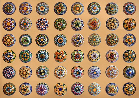 Might be fun to use some beautiful, decorative knobs for the ...