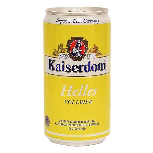 Bia Kaiserdom Helles 4.9% - Lon 250ml - Bia Đức Nhập Khẩu TPHCM