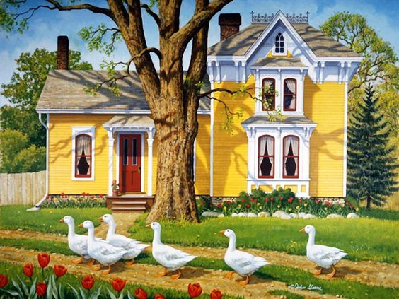 John Sloane —  Easter Parade   (1080×810):