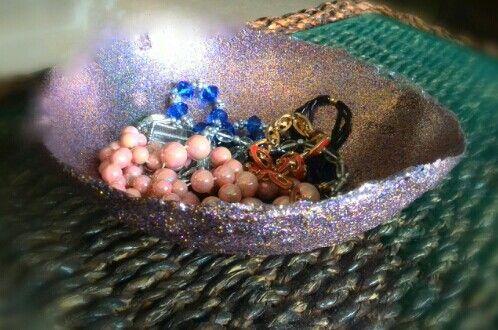 Glitter bowl #diy