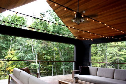 what a fabulous porch--on the second floor!