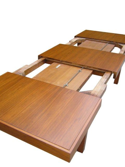 Expandable Dining Table by George Nelson for Herman Miller ...