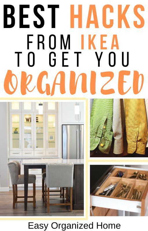 Amazing IKEA Organization Hacks You Need For Your Home in