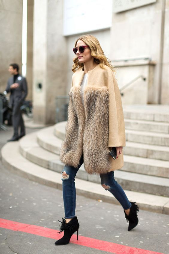 The Olivia Palermo Lookbook : Olivia Palermo at Paris Fashion Week: