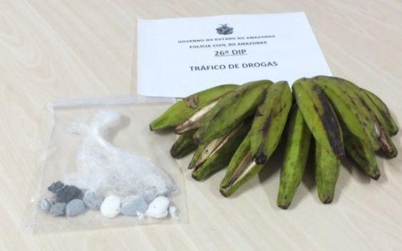 Mulher é presa por tentar entrar em presídio com drogas dentro de bananas