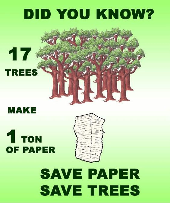 Which is more environmentally friendly? Computers or paper?