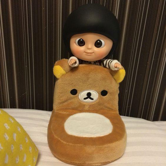 俾大家欣賞一下我張私家鬆弛熊坐位