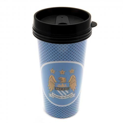Manchester City F.C. Plastic Travel Mug
