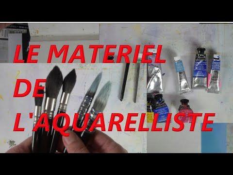 Aquarelle Et Materiel Choisir Le Papier Les Couleurs Et Tout