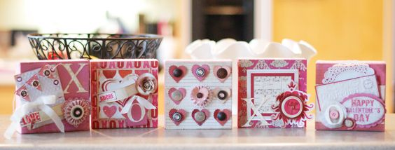 Totally CUTE!  Mini canvases!