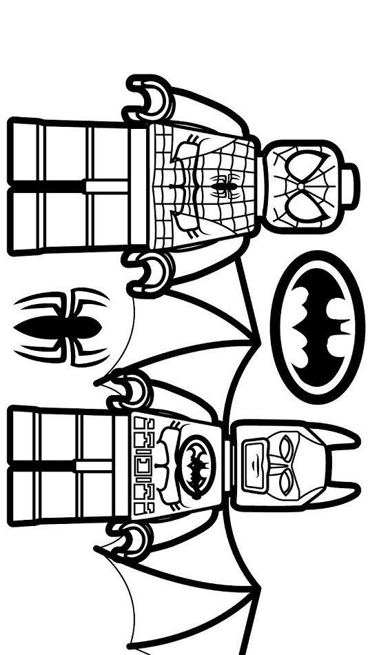 Lego Spiderman Coloring Pages Lego Spiderman And Lego Batman Coloring Page Free Spiderman Coloring Superman Coloring Pages Puppy Coloring Pages